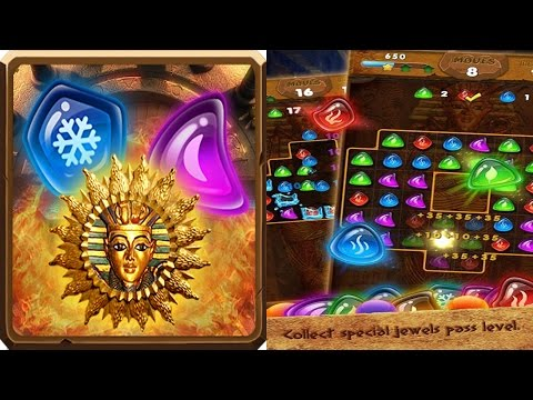 Pharaoh Jewel Journey un juego casual para tu android