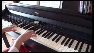 MIDIの伴奏に合わせて弾いています Date : 2011.02.06 (11 years old)...