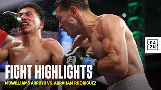 HIGHLIGHTS | McWilliams Arroyo vs. Abraham Rodriguez