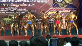 Mr Malaysia 2011-Welter Weight.Pre-judging round  Final Called Out II .MTS