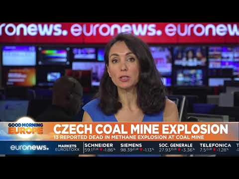 A methane explosion in a Czech coal mine kills over a dozen miners   #GME