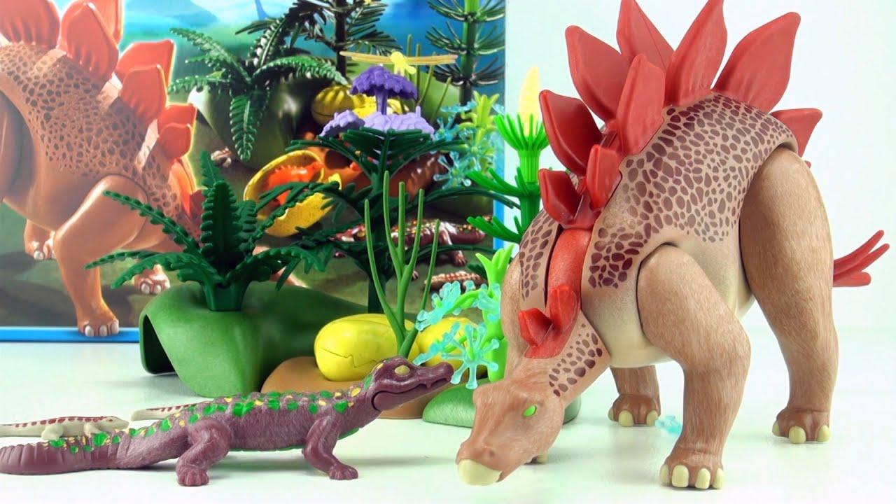 Playmobil dinos stegosaurus 5232 dinosaur stegosaurus - Dinosaur playmobile ...