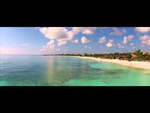 XPU HA BEACH RIVIERA MAYA • AERIALS • PINK FLOYD