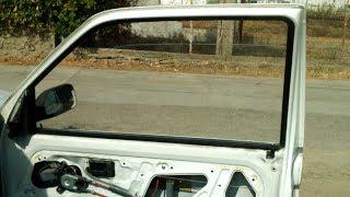 Tuto: Changer une vitre avant de voiture (106,Saxo,Clio...)
