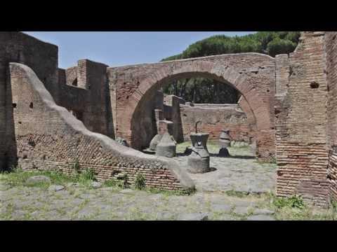Ostia explored 2. A Roman bakery explained.