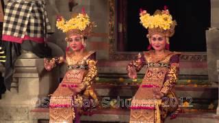 Танцы Бали Легонг и Баронг Balinese dances Legong and Barong Ubud, Bali - Stafaband