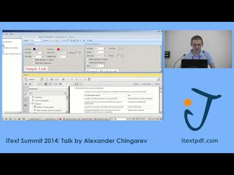 iText Summit 2014: How to Create a Structured PDF with iText