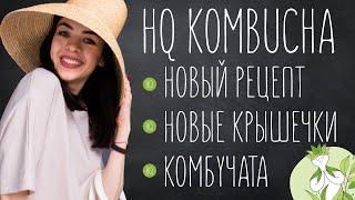 Комбучата и новый рецепт HQ Kombucha без сахара | Чайный Гриб Комбуча