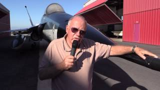 Test Pilot, Bob Ettinger, talks about the YF 17 and YF-16