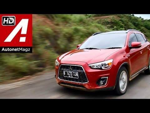 test drive mitsubishi outlander sport facelift 2015 indonesia by autonetmagz youtube
