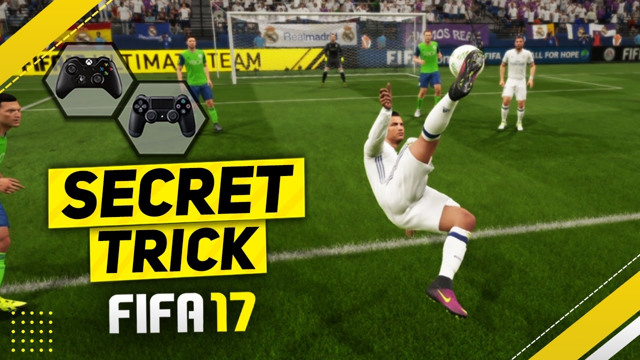 Fifa  Secreting Trick Tutorial How To Score The Best Goals The Volley Glitch Youtube