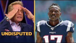 UNDISPUTED | Skip Bayless react to Antonio Brown gets 8-game suspension, Will AB comeback?