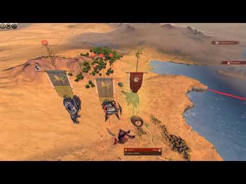 Total War: Rome 2 — Desert Kingdoms Culture Pack — 8 минут геймплея за Нумидию |