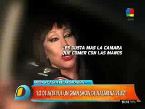 """Moria Casán, apuntó contra Fede y Barbie: Son Romeo y Julieta de cabotaje"""""""