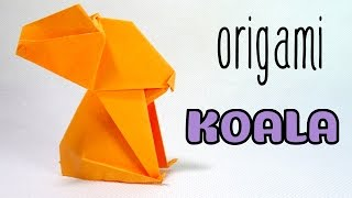 Origami Easy Cute Koala Tutorial