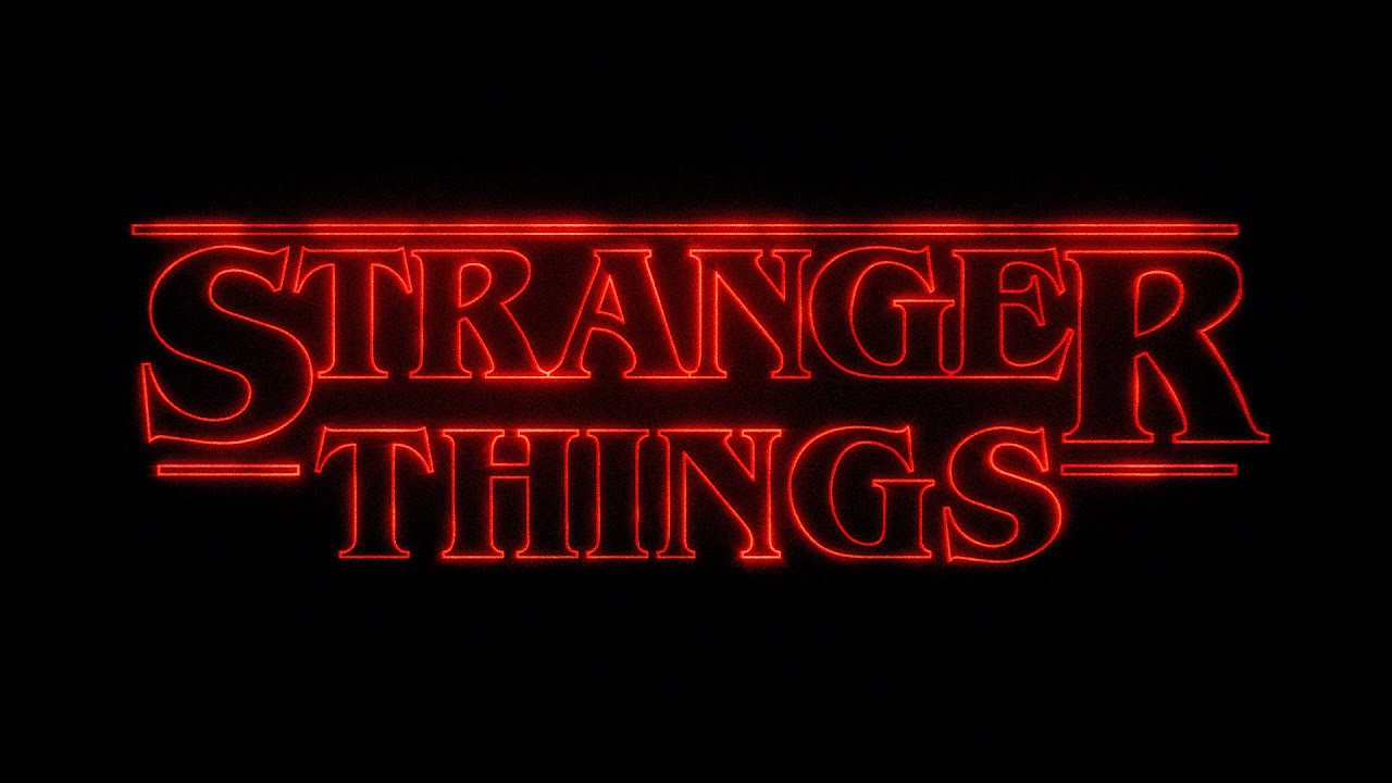 Stranger Things Title Sequence Recreation Blender 3d