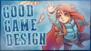 How Celeste Teaches You Its Mechanics - Good Game Design