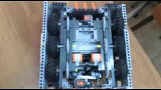 Робот сумоист WRO NXT