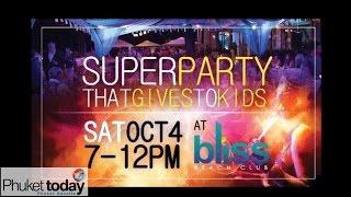 Rotary fundraiser for Phuket kids - Oct 4 at Bliss Beach Club