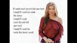 Fergie - Enchanté (Carine) ft. Axl Jack - Lyrics Video