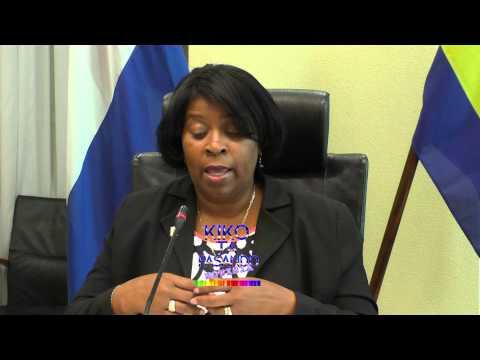 Minister di Desaroyo Sosial Labor i Bienestar, sra  Larmonie Cecilia TOKANTE ONDERSTAD TREKKER
