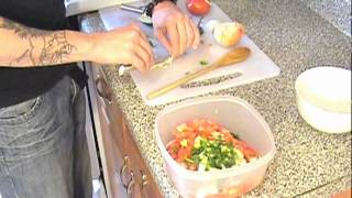 Pico De Gallo Recipe By: Aaron Hicks- Raw Vegan