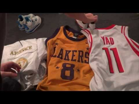 "Ep.2 My thrift store finds ""Baby Jordans & Versace?!"""