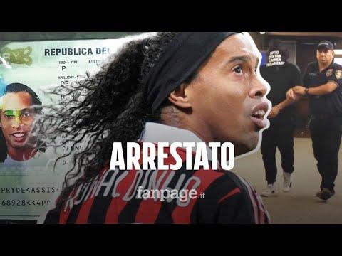 Ronaldinho arrestato in Paraguay: trovato in possesso di un passaporto falsificato