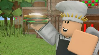 Roblox Food Empire Alpha Brot / Sandwich eingerichtet