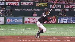 ホークス対マリーンズ(ヤフオクドーム)の試合ダイジェスト動画。 2019/0...