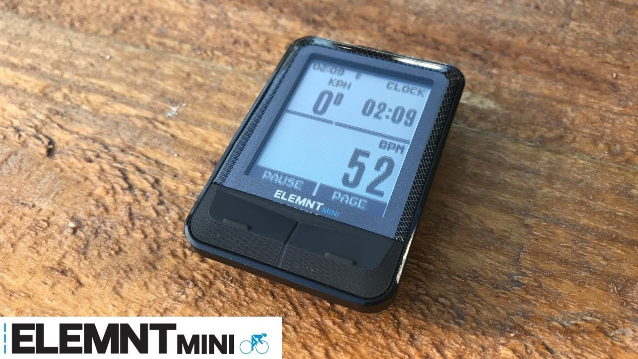 Wahoo Elemnt MINI Cycling Computer - Details / Unboxing / Install / First  Ride