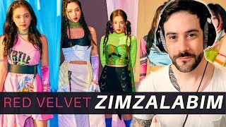 K-Pop Producer Reacts to RED VELVET - ZIMZALABIM