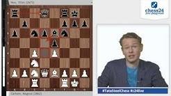 Magnus Carlsen - Hou Yifan: Schachweltmeister trifft auf Schachweltmeisterin
