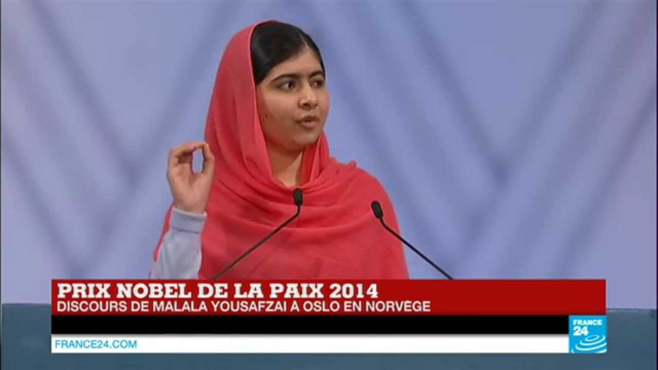 replay revoir le discours de malala yousafzai pour le prix nobel de la paix en int gralit. Black Bedroom Furniture Sets. Home Design Ideas