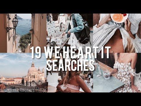 19 we heart it searches
