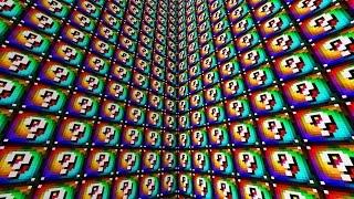 Minecraft 1V1V1V1 SPIRAL RAINBOW LUCKY BLOCK WALLS!   (Minecraft Modded Minigame)