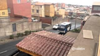 3 micros patinan en Antofagasta