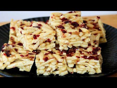想吃沙琪瑪不用買,在家用麵條做,鬆軟拉絲,無任何添加劑,好吃【夏媽廚房】