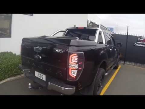 How To Install Ranger Led Tail Lamps Youtube