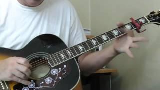 Lonnie Johnson Guitar Lesson - Blues in G Part 2