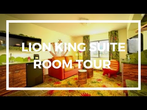 Lion King Suite At Disney S Art Of Animation Resort Youtube