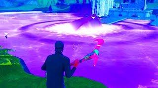 *FULL* CUBE EVENT GAMEPLAY! CUBE INSIDE LAKE! FORTNITE BATTLE ROYALE
