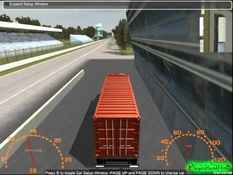 Бесплатные игры онлайн  Monster Truck Racing, Гонки на Грузовике