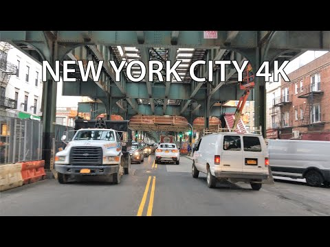 New York City 4K - USA's Most Diverse District - Queens Drive