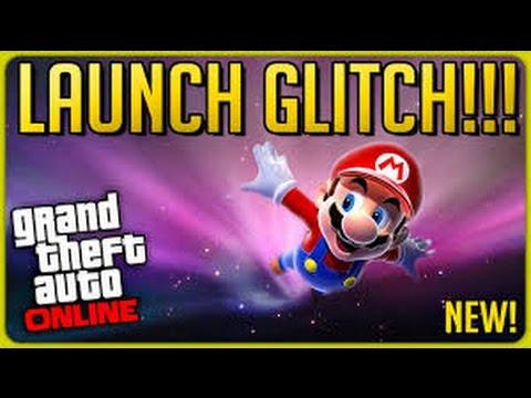 GTA V Funnies Moments - The Trampoline Glitch