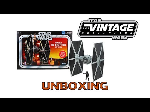 Star Wars TVC Imperial TIE Fighter Unboxing And Review