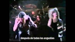 Warrant - Sometimes she cries (Subtítulos español)