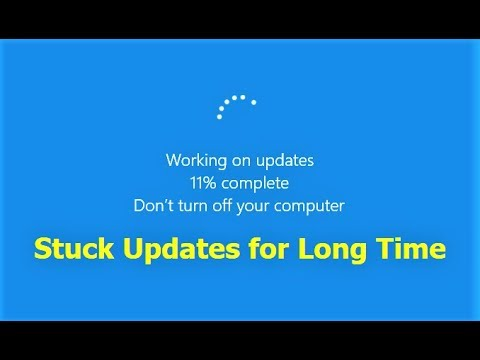 How to Fix Windows 10 Update Stuck on Working on Updates