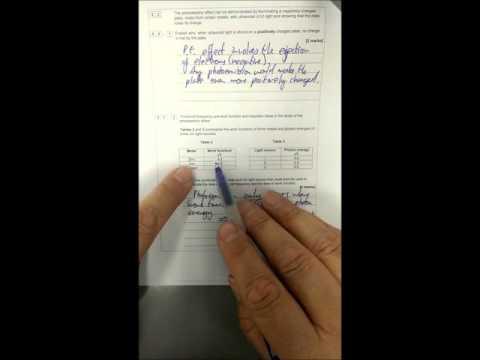 AS Physics Specimen Paper Walkthrough Paper 1