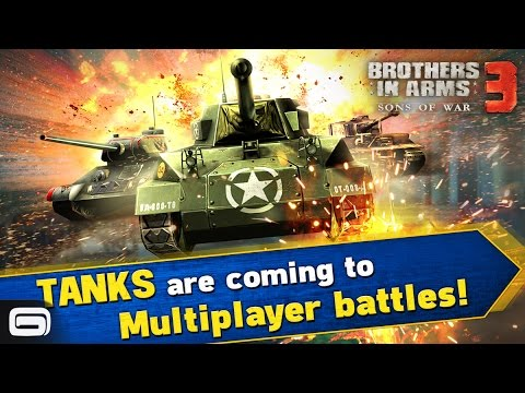 Download Brothers in Arms 3 Tanks Update  Trailer